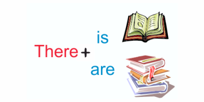 Complete the sentences using THERE IS or THERE ARE: