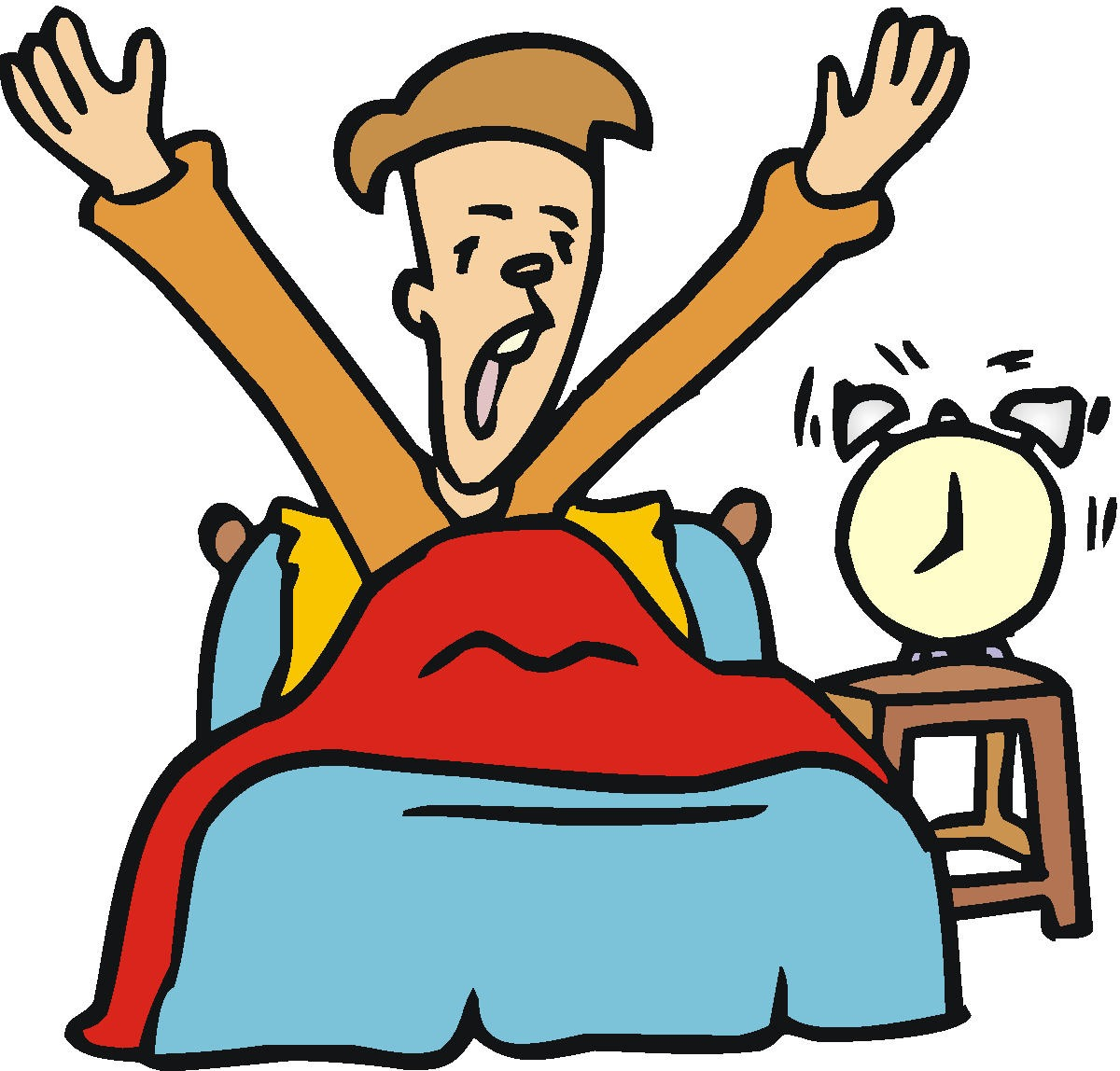 English Exercises: MODULE 6A.Spotlight5.Daily routine.Wake up!