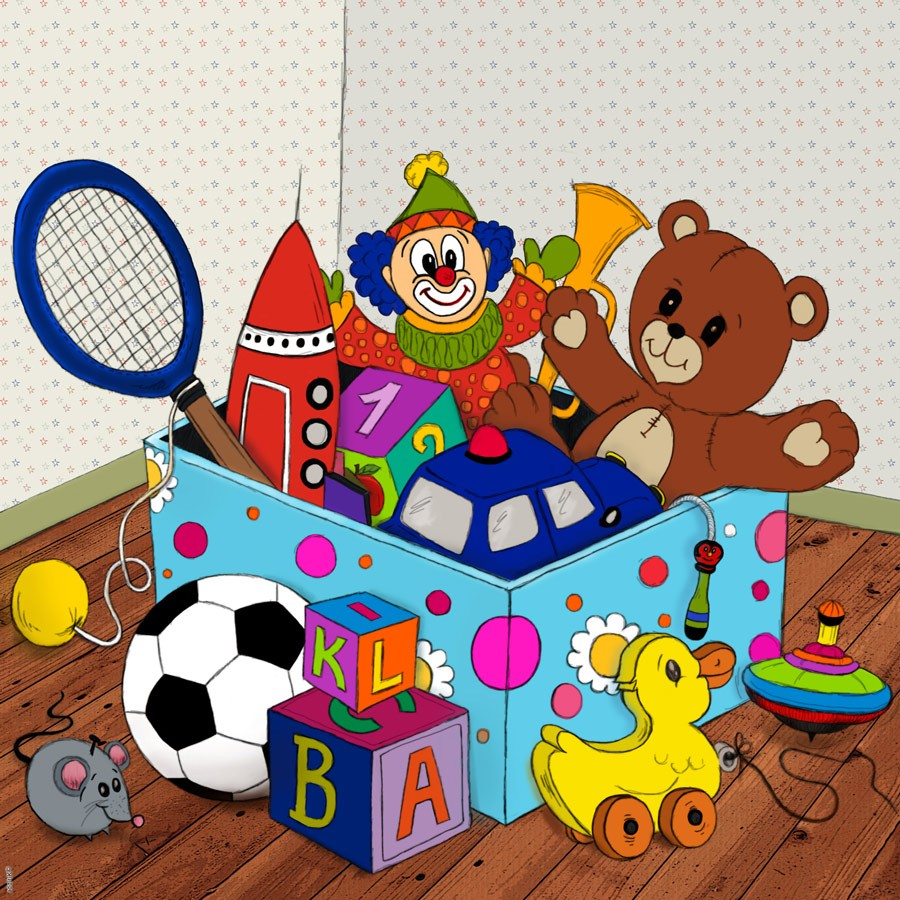 Toy Box Clip Art