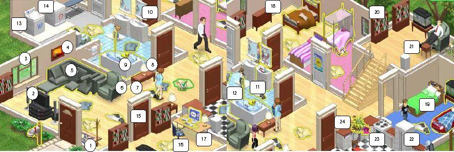 House and furniture englishexercises didactalia for Mobiliario en ingles