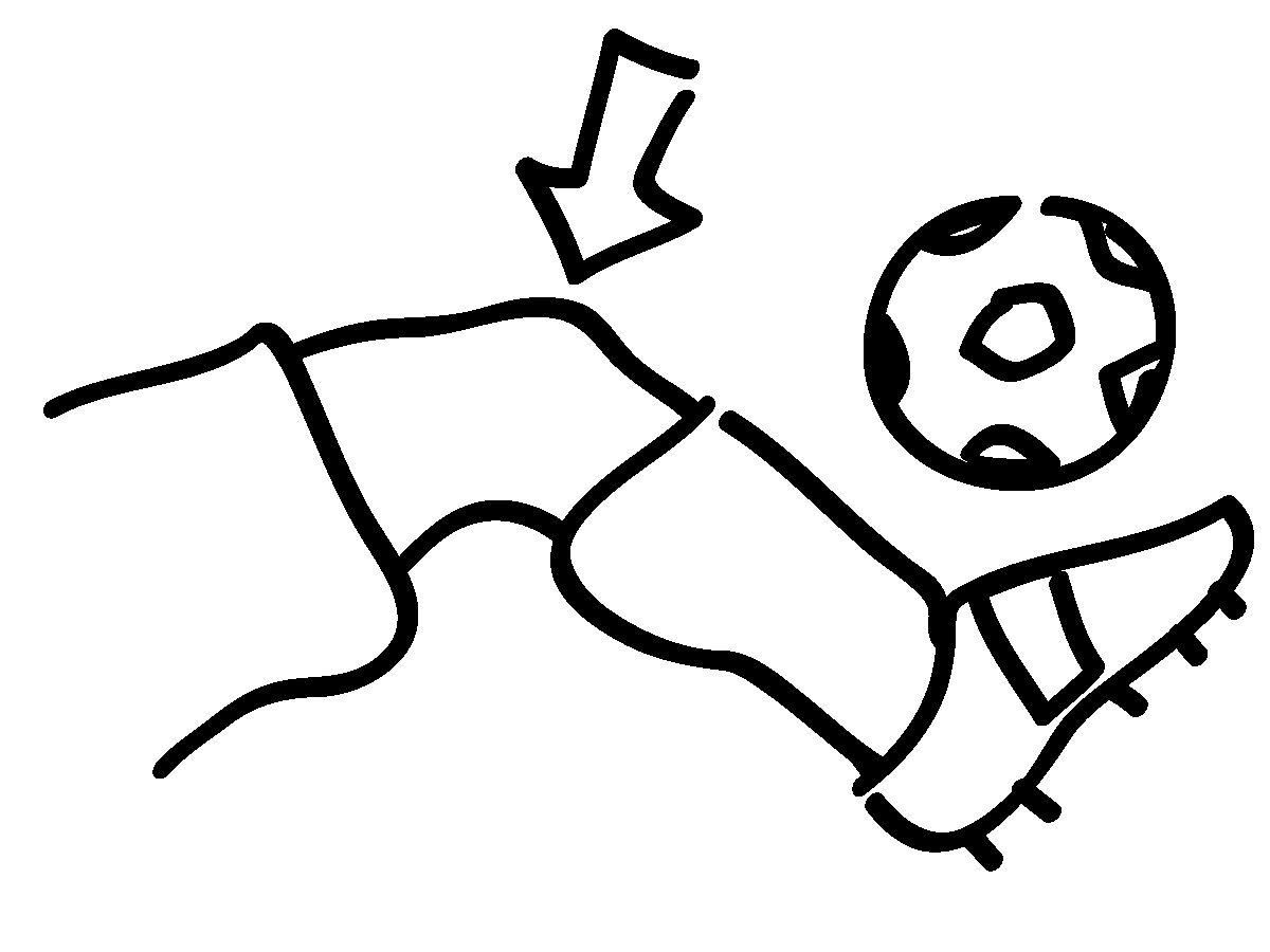 coloring pages knees - photo#7
