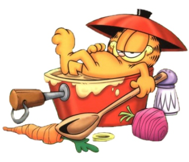 English exercises garfield talks everyday expressions verb tense review - Koken fotos ...