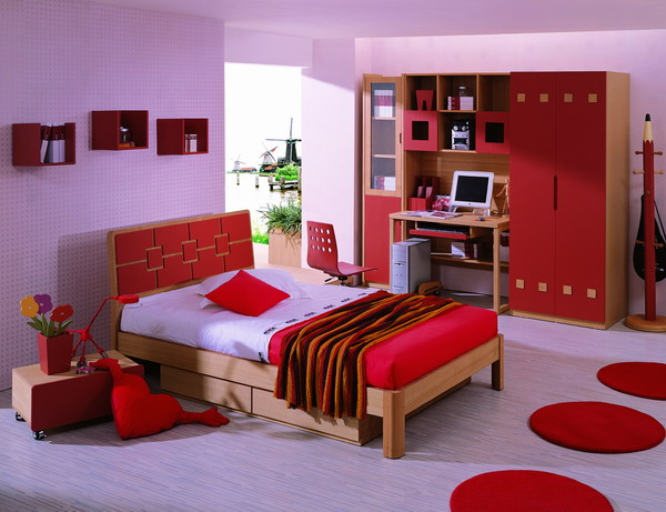 English Exercises Describing rooms in the house. Picture Of A Bedroom