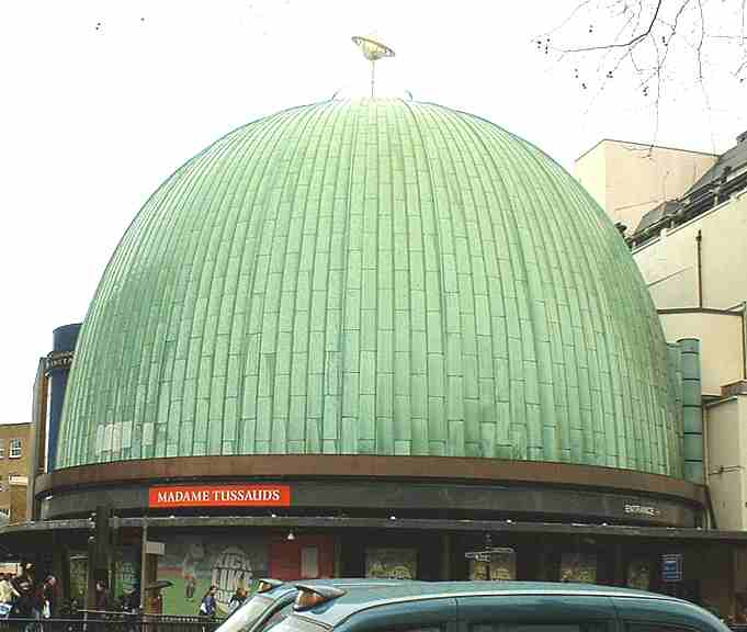 C Madame Tussauds Planetarium London on Kensington Palace London