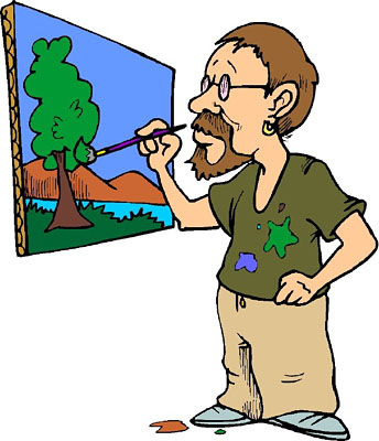 House Painter Clip Art