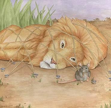 lion n mouse