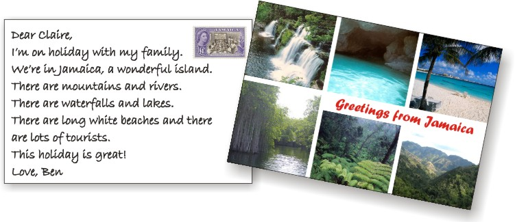 Holiday postcard in english – Best postcards 2017 photo blog
