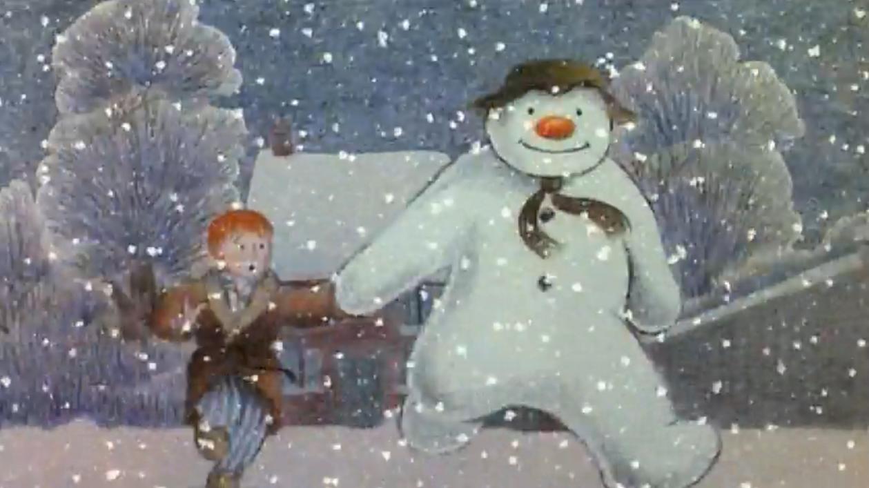 English Exercises The Snowman