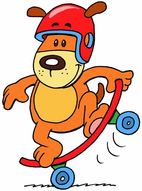 Hello i m rusty the skater