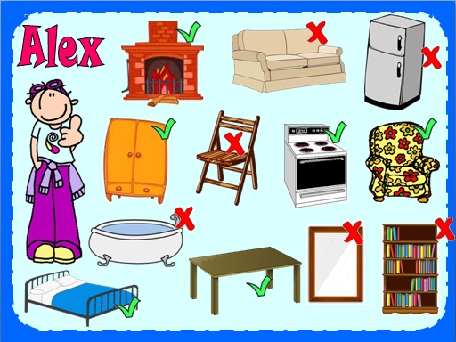 English Exercises Furniture And Have Got