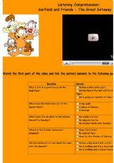English exercises: Listening exercises