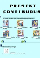 present continuous tense   askpanda answers search engine