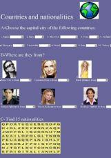 nationalities in english
