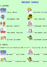 English Exercises Simple Present