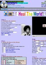 jackson heal the world