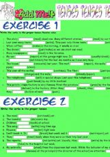 Passive voice intermediate exercises pdf