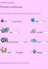 simple présent exercices pdf