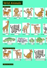 Wild Animals Pictures And Their Names