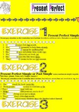 present perfect exercises