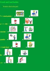 ESL - English Exercises: Good and bad habits