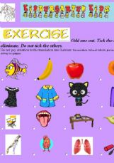 Worksheets Kindergarten Exercise esl english exercises kindergarten kids 2 toys exercises