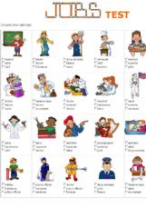English exercises: Jobs - Occupations
