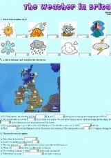 English exercises weather