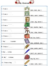 ESL - English Exercises: My Classroom