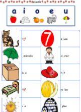 ESL - English Exercises: Vowels